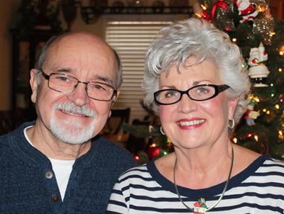 December 2017 Picture of Elvin & Eunice Huston